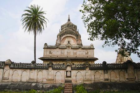 Chhatri of maharaja Parikshat. Datia. Madhya Pradesh state of India Stock Photo