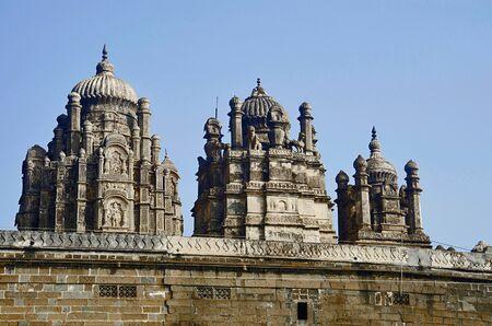 Partial view of Bhuleshwar Temple, Pune, Maharashtra India