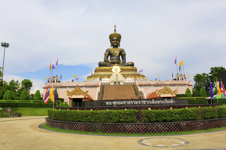 View from the main entrance of Phra Buddha Maha Dhammraja, Phetchabun, Thailand