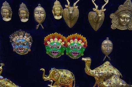 Metal brass souvenirs, Pokhran, Rajasthan state of India