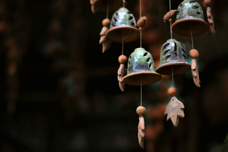 Earthen Wind Chimes at Pune in Maharashtra, India