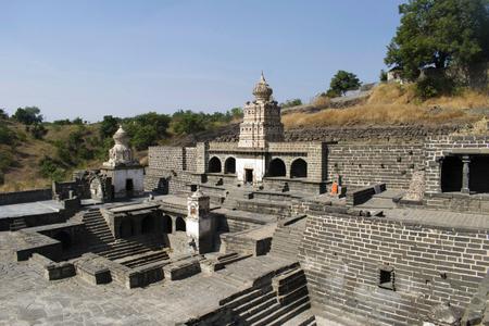 Gaumukh Temple from Lonar in Buldhana District, Maharashtra, India.