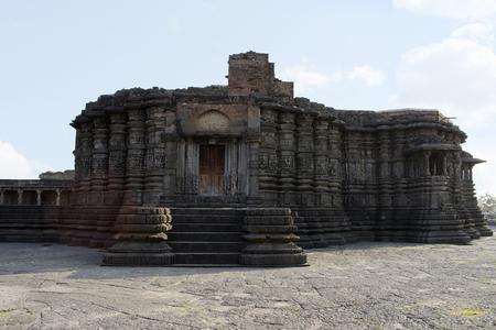 Front View of Daitya Sudan temple from Lonar, Buldhana District, Maharashtra, India. Reklamní fotografie