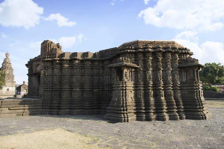 Right Side view of Daitya Sudan temple from Lonar, Buldhana District, Maharashtra, India.
