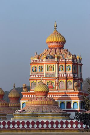 Omkareshwara temple dom, Narayan peth, Pune, Maharashtra, India Imagens