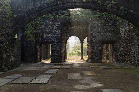 Morning at Vasai fort, Vasai, Thane in Maharashtra, India