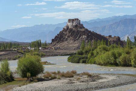 Stakna Monastery or Stakna Gompa at Ladakh, Jammu and Kashmir, India Imagens