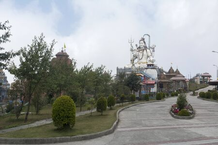 Char Dham or Siddheswar Dham at Namchi in Sikkim, India