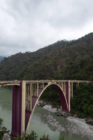 Coronation bridge also known as Sevoke Bridge in West Bengal, India