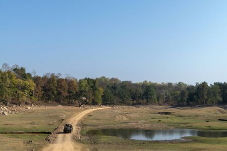 Landscape at Pench in Madhya Pradesh, India