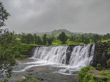 Waterfall near Igatpuri in Nasik, Maharashtra, India