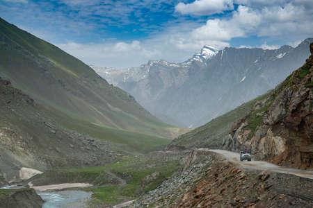 Landscape at Zoji La Pass, Jammu and Kashmir, India