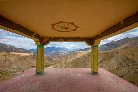View Point, Fotu La Pass, Ladakh, India. Fotu La is one of two high mountain passes between Leh and Kargil