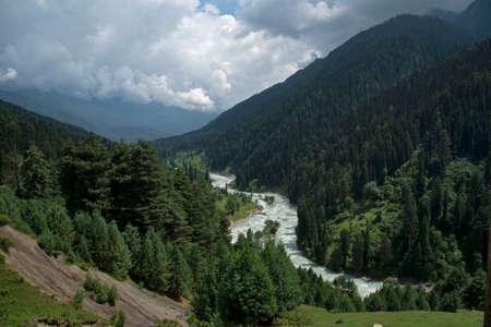 Aru valley view, Jammu Kashmir, India