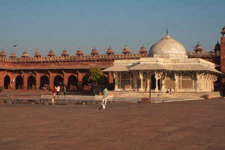 Tomb Of Salim Chishti, Fatehpur, Sikri, Uttar Pradesh 新闻类图片