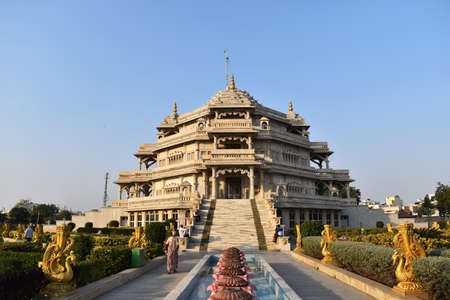 Ghodasar, Ahmedabad, December 2019, Shree Muktajeevan Swamibapa Smruti Mandir and World Peace Centre, built at the exact site of Jeevanpran Swamibapa's cremation in 1979