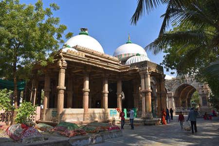 Ahmedabad, Gujarat, December 2019, Qutub E Alam Dargah. Dargah of: Hazrat Syed Burhanuddin Qutub-ul-Alam 新闻类图片