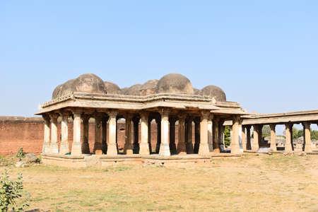 Building of Ahmedabad in Gujarat state 免版税图像
