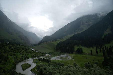 Betaab Valley is the best local sightseeing spot in Pahalgam, Jammu Kashmir, India