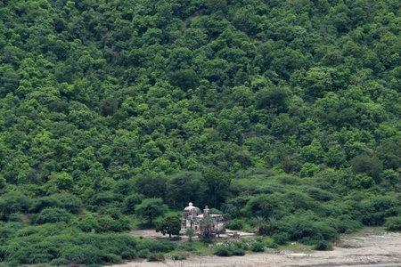 Shree Kamalja Devi Temple at Lonar lake, Lonar, Buldhana, Maharashtra, India
