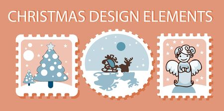 christmas elements Stock Vector - 9631760