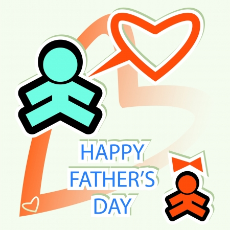 Father's Day card  Stock Photo - 18452623