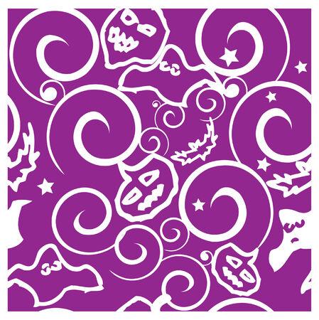 drakula: Halloween background seamless pattern vector illustration  Stock Photo