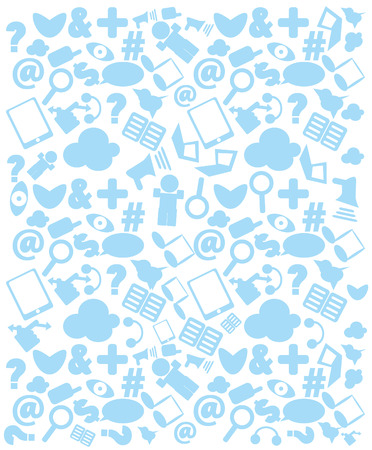 Cloud Computing background concept with copy space  Stock Photo