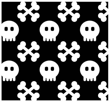 Seamless from skull.(can be repeated and scaled in any size) Pattern