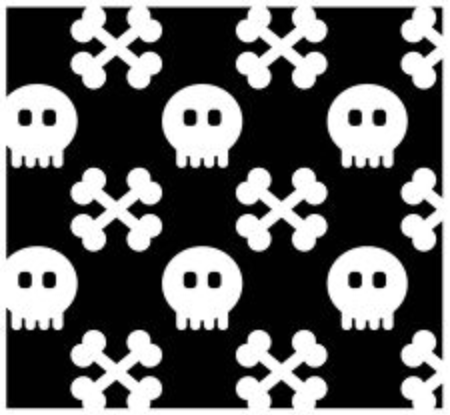 any size: Seamless from skull.(can be repeated and scaled in any size) Pattern