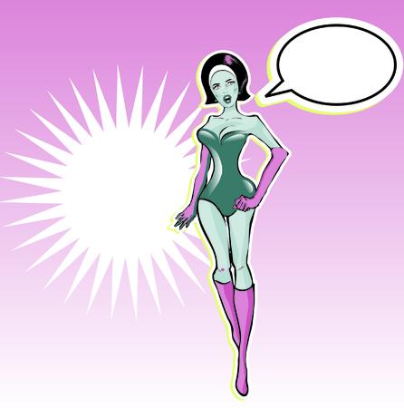 heroine: Super heroine