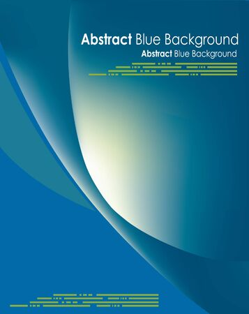 Abstract background, Vector blue cover or layout with big text area. Great for scientific, purposes, exam