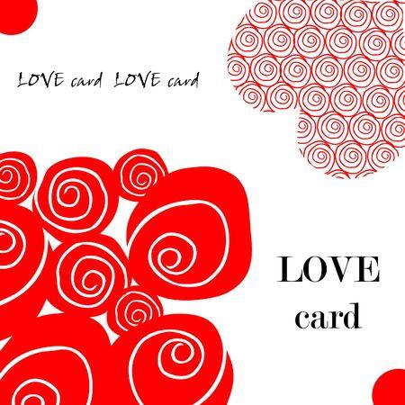 valentin's: Love fake paper card, heart, flower, valentins day