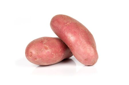 russet: two potato Stock Photo
