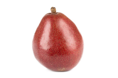 d'Anjou pear on white background