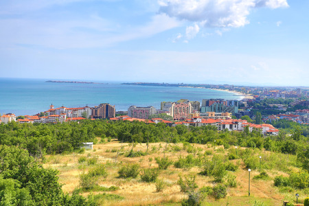 View of the city of Burgas Bulgaria