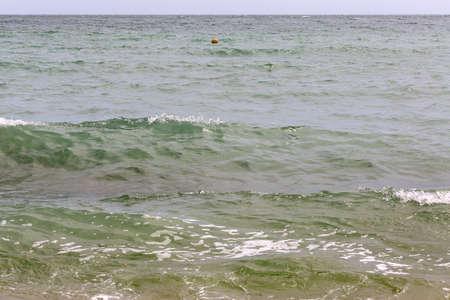 the black sea: black sea waves Stock Photo