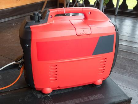 mains: Gasoline Generator Mobile Home