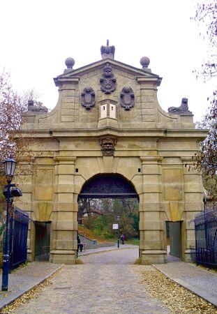 leopold: Leopold Gate, Vy�ehrad, Prague