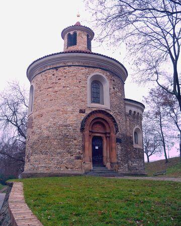 rotunda: St Martin Rotunda, Prague
