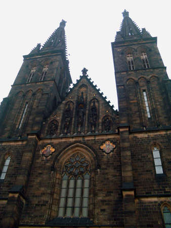 Church of St Peter and St Paul, Vysehrad, Prague Stock Photo - 11768099