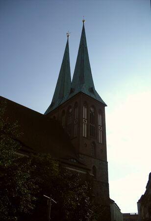 Nicholas Church in Berlin Stock Photo - 11888530