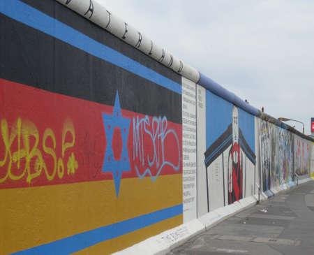 The Berlin Wall at Friedrichshain Stock Photo - 11867656