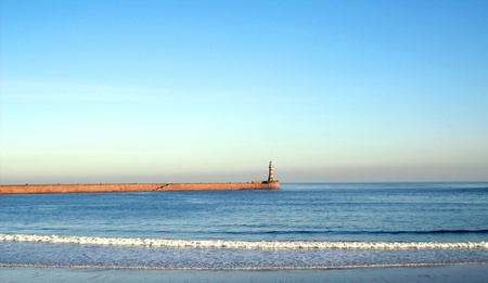 Roker Pier and Lighthouse, Sunderland photo
