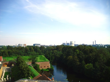 View from Spandau Citadel Stock Photo - 12055211