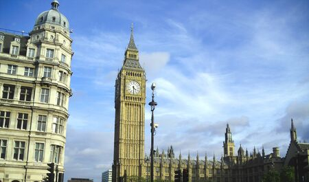 Big Ben and the Houses of Parliament, London Stock Photo - 12055325