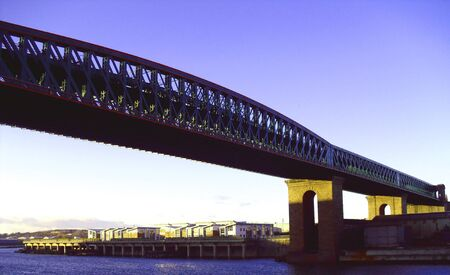 Queen Alexandra Bridge, Sunderland Stock Photo - 12055291