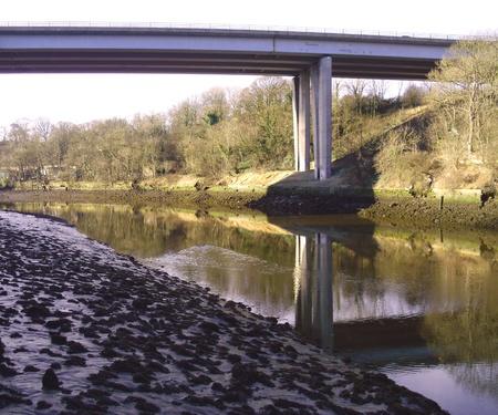 A19 Bridge at Sunderland Stock Photo - 12250450