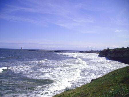 View of Roker Pier, Sunderland photo