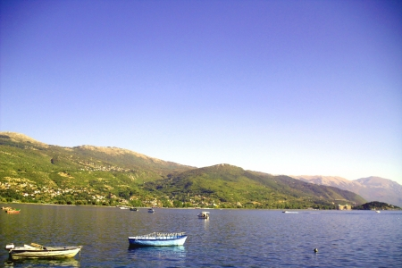 Lake Ohrid, Macedonia Stock Photo - 15689258